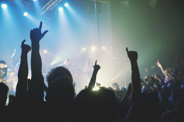 Maquinaria de limpieza para conciertos