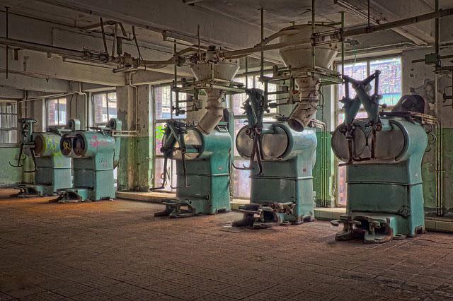 Máquinas de limpieza de naves industriales
