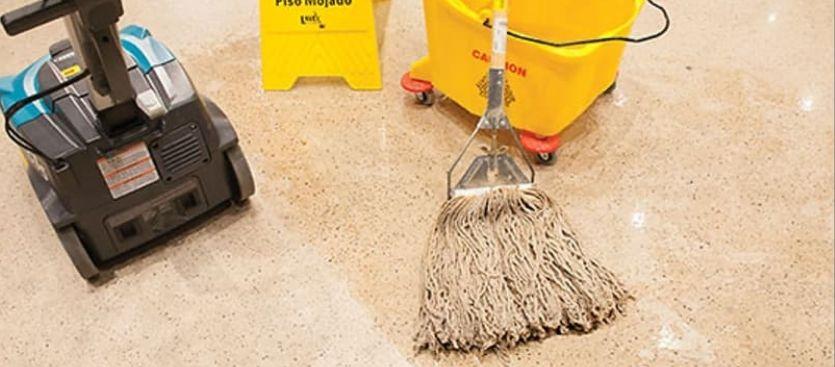 La mecanización de los aparatos de limpieza